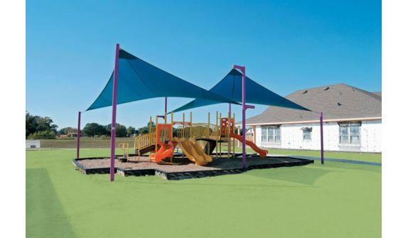 Защита детских площадок от солнца