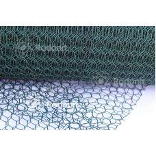 Сетка вольерная заградительно-декоративная Galvanex Plast 13 Рулон 1х25 м